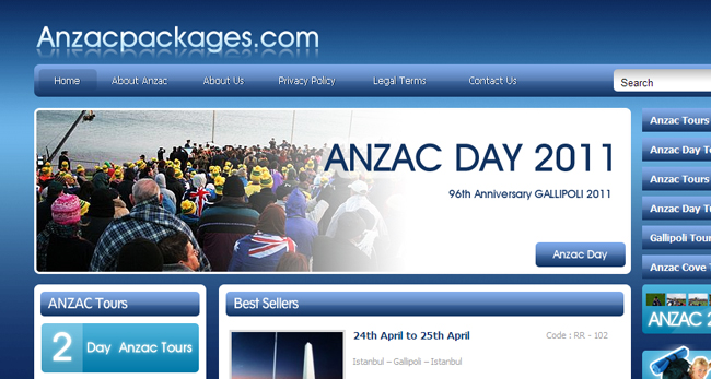 Anzacpackages