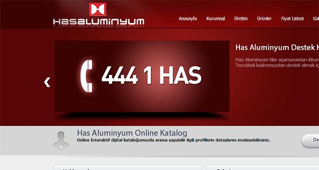 Has Alüminyum