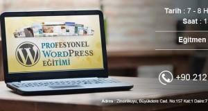 Eğiteam Katkılarıyla Sertifikalı WordPress Eğitimi