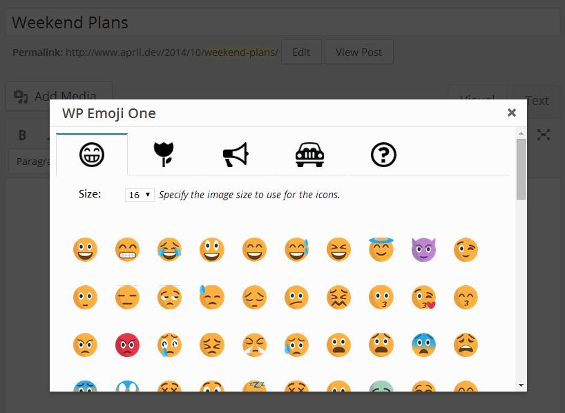 emoji-one-modal
